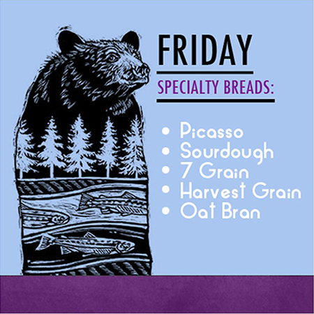 Friday's Specialty Breads at the Skeena Bakery