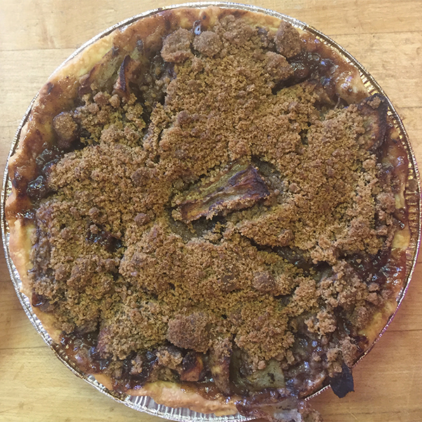 Handmade Pies with Crumble Topping